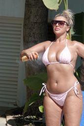 Bethan Kershaw in a Bikini on Holiday in Marbella 09/03/2020