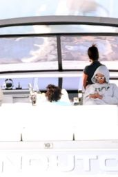 Beyonce and Jay Z - Taking a Boat Ride in the Hamptons New York 09/14/2020