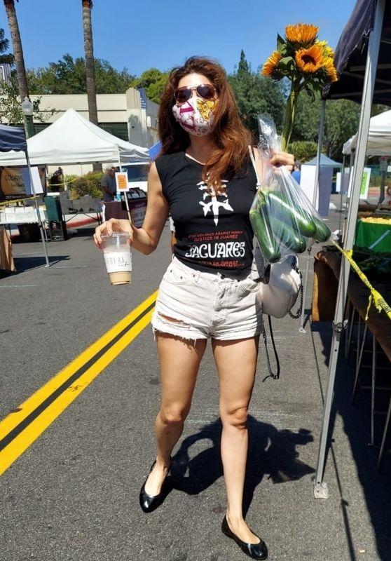 Blanca Blanco - Farmers Market in West Hollywood 09/06/2020