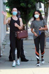 Britt Stewart - Leaving Ddance Studio in LA 09/27/2020