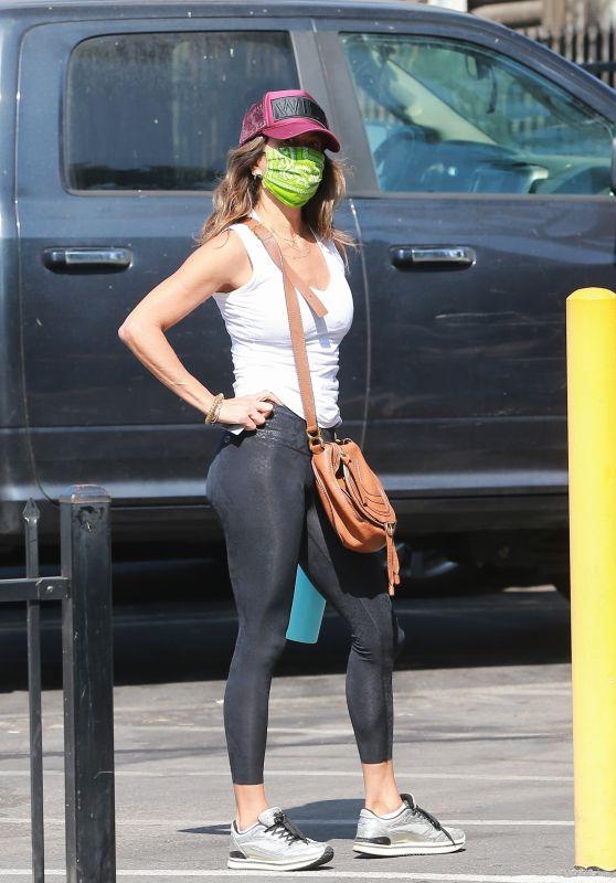 Brooke Burke in Spandex - West Hollywood 08/31/2020