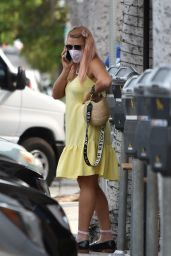 Busy Philipps in Summer Dress - Los Angeles 09/09/2020