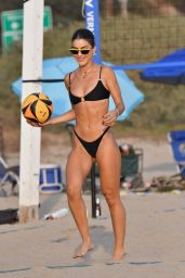 Camila Coelho in a Bikini - Playing Beach Volleyball in Santa Monica 09/26/2020