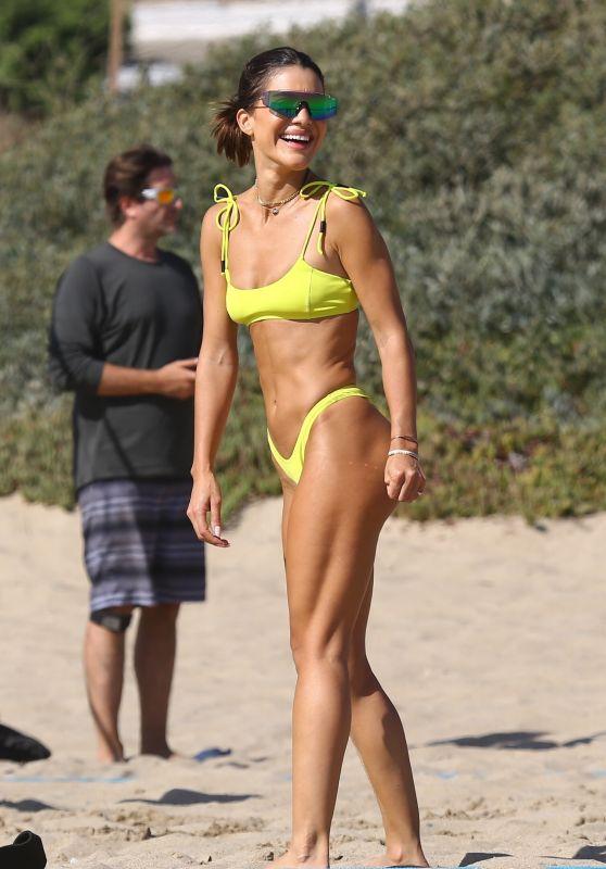 Camila Coelho - Playing Beach Volleyball in Santa Monica 09/19/2020