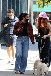 Camila Mendes and Madelaine Petsch - Out in Vancouver 09/06/2020