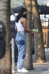 Camila Mendes - Out in Vancouver 09/11/2020