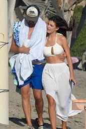 Camila Morrone and Leonardo DiCaprio on the Beach in Malibu 09/08/2020