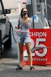 Cara Santana in Jeans Shorts - House-Hunting in LA 09/13/2020