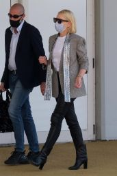 Cate Blanchett - Leaves the Venice Film Festival in Venice 09/13/2020