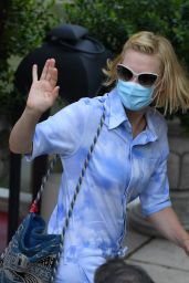 Cate Blanchett - Leaving Her Hotel in Venice 09/06/2020