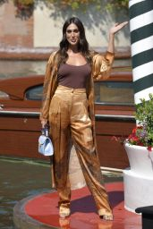 Cecilia Rodriguez – Arriving at Hotel Excelsior in Venice 09/05/2020