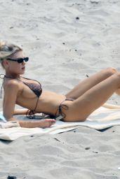 Charlotte McKinney in a Bikini on the the Beach in Malibu 09/08/2020
