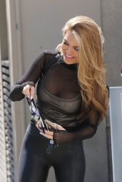 Chrishell Stause - Arrives at the DWTS Studio in Los Angeles 09/19/2020