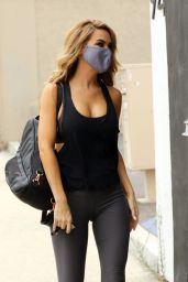 Chrishell Stause - Heads to the DWTS Studio in LA 09/11/2020