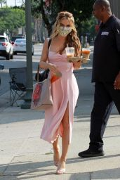 Chrishell Stause - Heads to the DWTS Studio in Los Angeles 09/26/2020
