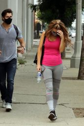 Chrishell Stause - Leaving the DWTS Studio in LA 09/12/2020
