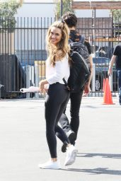 Chrishell Stause - Leaving the DWTS Studio in LA 09/29/2020