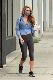 Chrishell Stause - Leaving the DWTS Studio in Los Angeles 09/11/2020