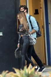 Chrishell Stause With Gleb Savchenko - Los Angeles 09/17/2020