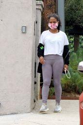 Christina Milian - Heading Out in LA 09/15/2020