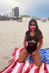 Claudia Romani - Miami Beach 09/29/2020