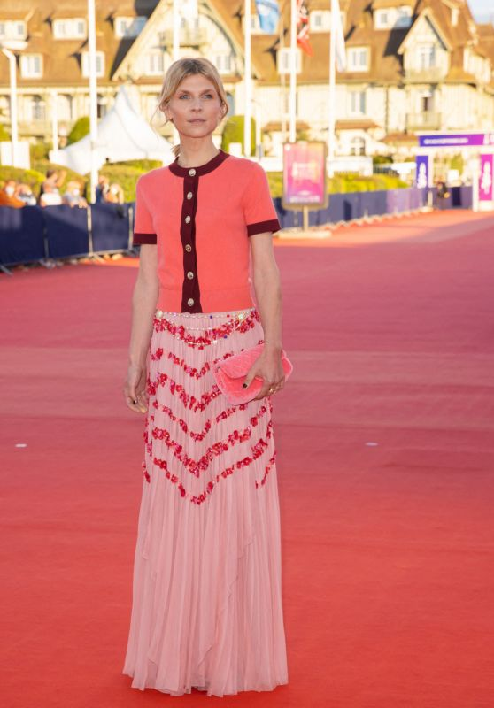 """Clémence Poesy - """"Resistance"""" Premiere at the 46th Deauville American Film Festival"""