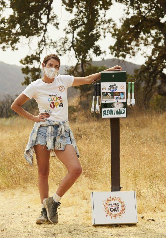 Cobie Smulders - Planet Oat Project in LA 09/09/2020