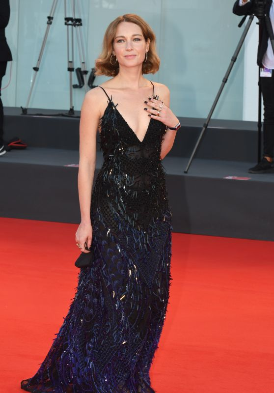 "Cristiana Capotondi – ""Miss Marx"" Premiere at the 77th Venice Film Festival"