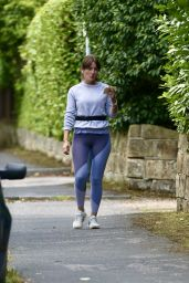 Davina McCall - Country Park in Kent 09/01/2020