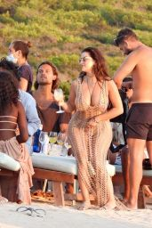 Demi Rose - Experimental Beach in Formentera 07/26/2020