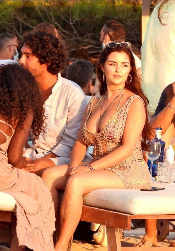 Demi Rose - Experimental Beach in Formentera 07/26/2020