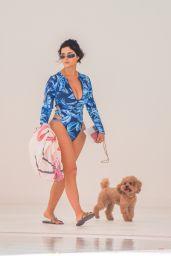 Demi Rose on the Beach in Ibiza 08/22/2020