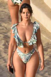 Demi Rose on the Beach in Ibiza 08/29/2020