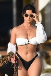 Demi Rose on the Beach in Ibiza 09/07/2020