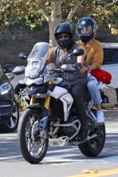 Diane Kruger and Norman Reedus Riding a Motorcycle in Malibu 09/02/2020