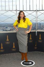 Drew Barrymore - Empire State Building in Midtown Manhattan 09/14/2020