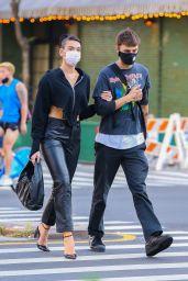 Dua Lipa and Anwar Hadid - Out in NYC 09/28/2020