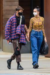 Dua Lipa and Anwar Hadid - Stroll in NY 09/29/2020