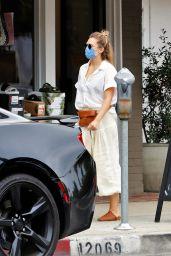 Elizabeth Olsen - Heading to Alfred Coffee in LA 09/08/2020