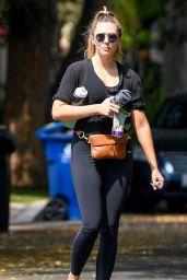 Elizabeth Olsen - Leaves a Private Workout Session in LA 09/10/2020