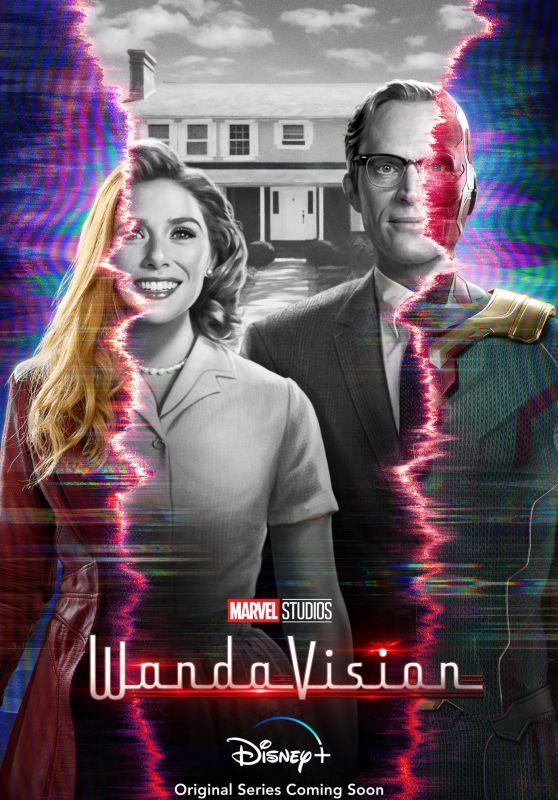 "Elizabeth Olsen - ""WandaVision"" Poster"