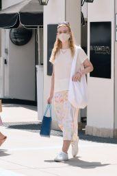 Elle Fanning - Shopping in LA 09/18/2020