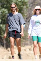 Elsa Hosk on a Hike in Los Angeles 08/31/2020