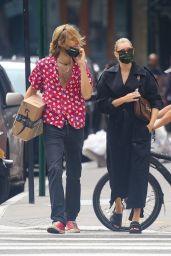 Elsa Hosk - Walks With Her Boyfriend in NYC 09/28/2020