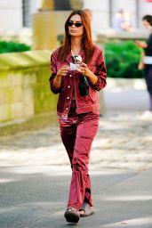 Emily Ratajkowski in Central Park in NYC 09/12/2020