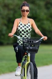 Emily Ratajkowski - Riding Her Bike in The Hamptons 09/03/2020