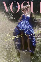 Emma Corrin - Vogue UK October 2020