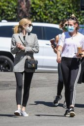 Emma Roberts and Kristen Stewart - Out in LA 08/30/2020