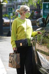Emma Roberts - Leaving Starbucks in Los Feliz 09/24/2020