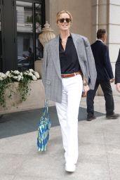 Eva Herzigova Street Style - Milan 09/23/2020